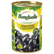 Маслины Bonduelle с косточкой