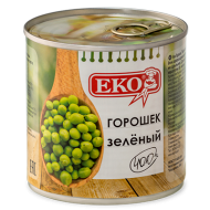 """Зеленый горошек """"Еко"""" 400гр"""