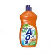 Бальзам Aos для мытья посуды Алое Вера 450 мл