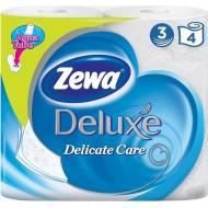 Туалетная бумага Zewa Deluxe белая 4 шт