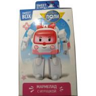 Мармелад жевательный Sweet Box Робокар Поли с игрушкой 10 г