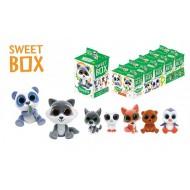 Мармелад жевательный Sweet Box Зверята с игрушкой в коробочке