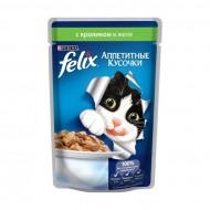 Корм Felix для кошек с кроликом 85гр