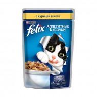 Корм Felix для кошек с курицей 85гр