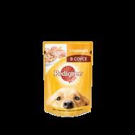 Корм для собак Pedigree соус курица