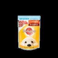 """Корм для собак """"Pedigree"""" для щенков с говядиной 100 гр."""