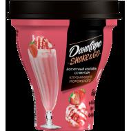Коктейль йогуртный Даниссимо клубничное мороженое 5,2% 260 г бзмж