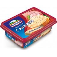 Плавленый сыр Hochland с ветчиной 55% 200 г бзмж