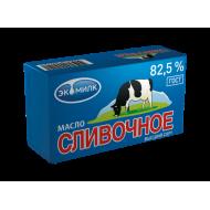 Сливочное масло Экомилк 82,5 % 450 г бзмж