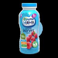 """Йогурт питьевой """"ФрутоНяня"""" малина 2,5% бзмж 200 г"""