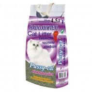 Наполнитель для кошачьего туалета PUSSY-CAT Комкующийся 4,5л