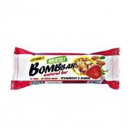 """Батончик """"BOMBBAR"""" мультизлаковый """"Клубника"""" 45 гр."""