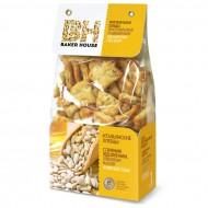 """Хлебцы """"Baker House"""" с семенами подсолнечника, оливковым маслом и морской солью 250гр"""