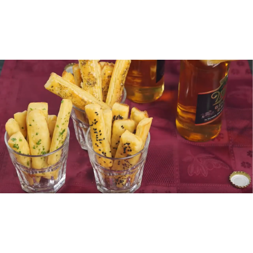 Запечные картофельные палочки