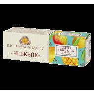 Десерт Б.Ю. Александров Чизкейк с манго и семенами чиа 15% 40 г