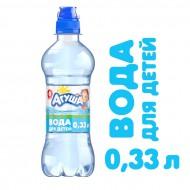 Детская питьевая вода Агуша негазированная с рождения 0,33 л