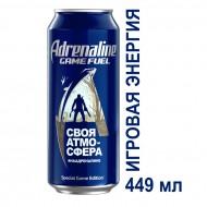 Напиток Adrenaline Game Fuel энергетический 0,449 л